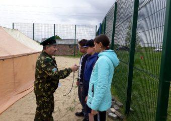 Военно-спортивная игра «Граница»