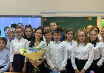 Участие в общероссийской акции «Наш мир»